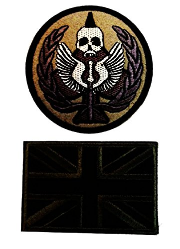 Smile Style Modern Warfare 2 Task Force 141 Ghost Tactical Patch Armbands