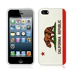 NADIA Dream Wireless TPU In-Mold Decorating Case for iPhone 5/5s - Retail Packaging - California
