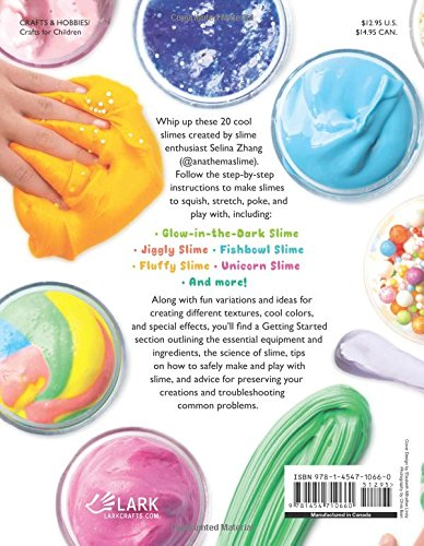 The slime workshop 20 diy projects to make awesome slimesall borax the slime workshop 20 diy projects to make awesome slimesall borax free livros na amazon brasil 9781454710660 ccuart Gallery