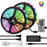 LED Strip Lights, Targherle 33ft/10M Led Light Strip SMD 5050 IP65 Waterproof RGB