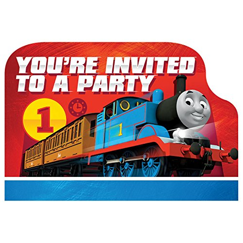 Thomas All Aboard Postcard Invitations, Party Favor]()