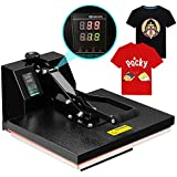 SUNCOO Heat Press Machine Digital Sublimation Heat Pressing Transfer Machine for T-Shirt(16 x 20)