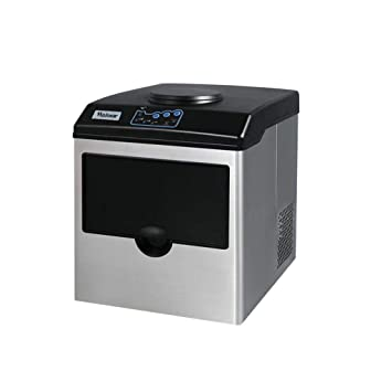 Appliances VBENLEM Commercial Ice Maker with Dispenser 78LBS per 24 Hour with Cool Water Dispenser Clear Cube Ice Making Machine 13.2LBS Ice Storage for Office Snack Bar