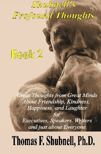 Read Online Shubnell's Profound Thoughts Book 2 pdf epub