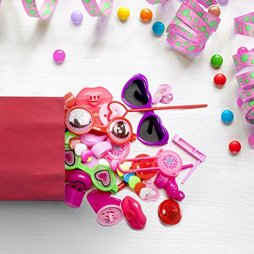 Bulk Toys Party Favors for Kids - 100 Pc Valentines Day Toy Assortment for Goodie Bags Party Bags and Pinata Prizes