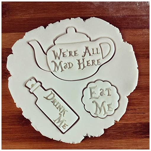 Mad Hatter Cookie CutterAlice/'s Adventures in Wonderland Wedding Tea Party