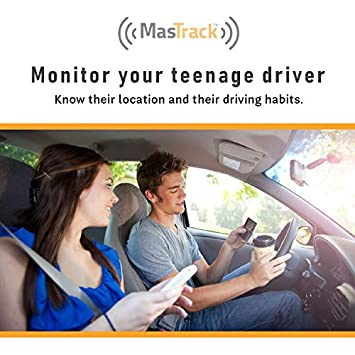 MasTrack- GPS Tracking Device for Cars with Free 1 Year Data Plan Track On Computer Smartphone Tracking Employees, Teens, More Plug Into OBD Port Instant Alerts Engine Diagnostics
