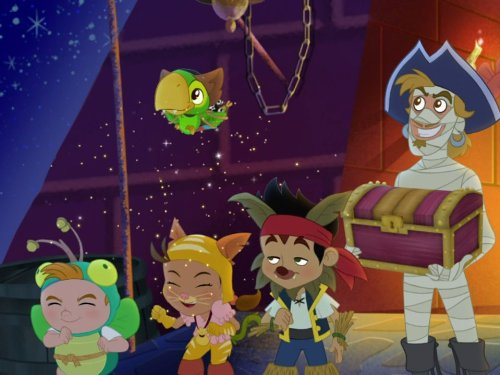 Jake And The Never Land Pirates - Tricks, Treats and Treasure! / Season of the Sea Witch