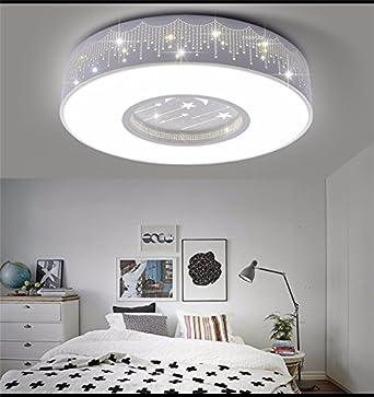 JRBB Kinderzimmer Deckenleuchte LED Leuchten Helle Zimmer Jungen Sterne Mädchen  Schlafzimmer Lampe Warme Minimalistische Kreative