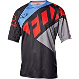 Fox Racing Demo Bike Short-Sleeve Jersey - Men's SECA Black/Grey/Red, M