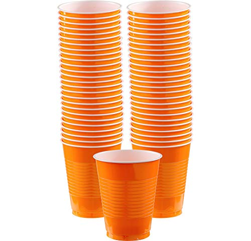 Big Party Pack Orange Peel Plastic Cups |
