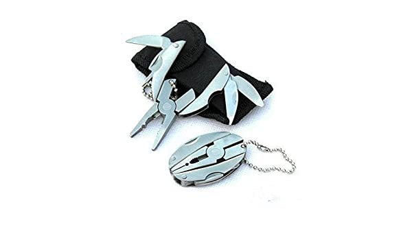 Outdoor Mini Multitool Foldaway Multi Tool Knife Pocket Multitools Knife Keychain Screwdriver Alicates Multi Herramienta - - Amazon.com