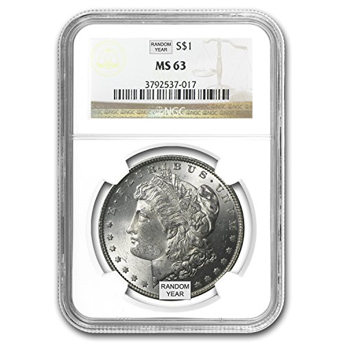 1878-1904 Morgan Dollars MS-63 NGC $1 MS-63 NGC