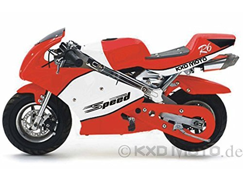 Topnethandel5!!!!! LEMON 49cc Pocket Bike KXD Pocketbike Kinderbike rally PB008S