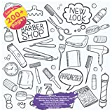 Ultimate Coloring Book Fashion New Look Hairdresser Barber Shop, Pony, Egg, Masks, Turtle, Monster, New York, Mosaic, Healthy Food, Vegetable and ... Barber Shop and others Doodle Book)