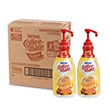 NESTLE COFFEE-MATE Coffee Creamer, Hazelnut, 1.5L liquid pump bottle, Pack of 2