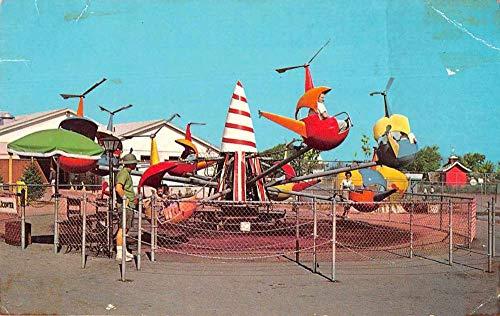 Grand Island New York Fantasy Island Amusement Park Vintage Postcard JB626330