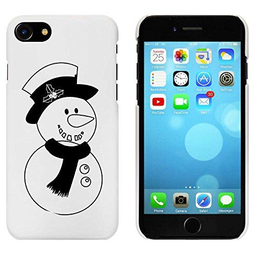 Blanc 'Bonhomme de Neige' étui / housse pour iPhone 7 (MC00067330)
