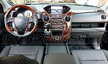 Amazon.com: HONDA PILOT INTERIOR WOOD DASH TRIM KIT SET 2012 2013 2014:  Automotive