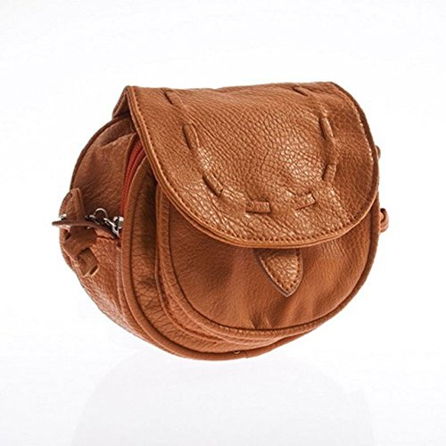 Tongshi Shoulder Women's Adjustable Handbag Women's Bag Tongshi Brown dZzgrz