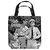 Andy Griffith Show 1960's Comedy Sitcom TV Series Lawmen Tote Bag