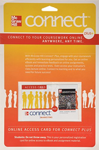 Connect Access Code Card for M: Advertising