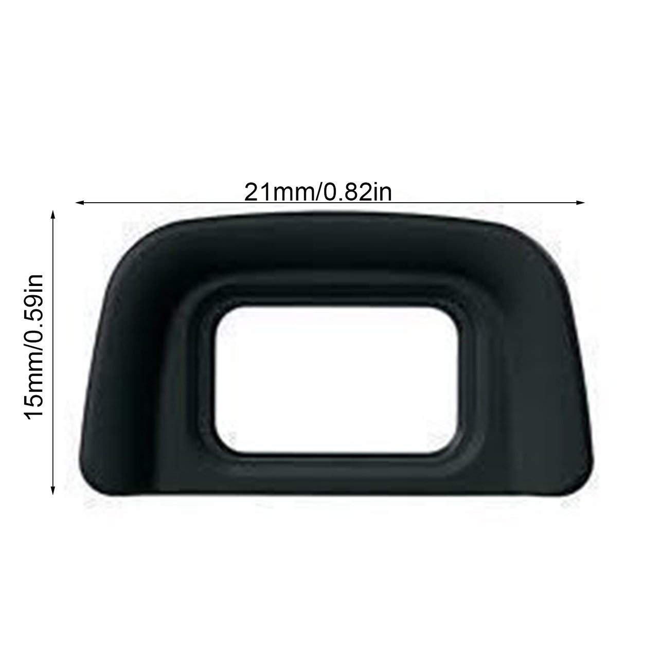 DK-20 Mirino Oculare Oculare Maschera adatta per Nikon D3200 D70S D3100 Colore: nero