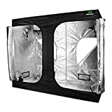 Cheap EasyGrowth 96″x48″x80″ Reflective Mylar Hydroponic Grow Tent with Waterproof Floor Tray for Indoor Plant Growing