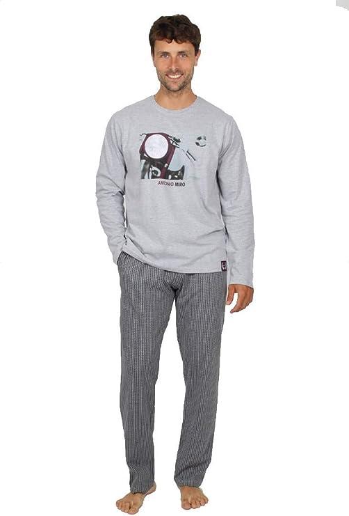ANTONIO MIRO - Pijama Chico Moto Hombre: Amazon.es: Ropa