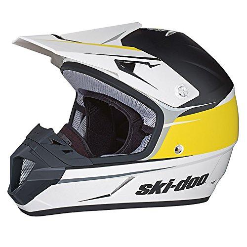 SKI-DOO XC-4 Cross Drift Helmet (YELLOW) (XX-LARGE) (Ski Drift)