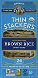 lundberg brown rice - Lundberg Family Farms Organic Thin Stackers Grain Cakes, Brown Rice Lightly Salted, 5.9 Ounce (Pack of 12)