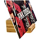 Record-Happy Vinyl Record Holder Stand – Single Album LP Display Perfect to Show Your Now Playing 12 inch, 7inch Records or CD's Eco-Friendly Bamboo Will tastefully Exhibit Your Collection