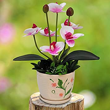 Amazon.de: JIAHUABAI Set Blumen, Schlafzimmer, Künstliche Blumen ...
