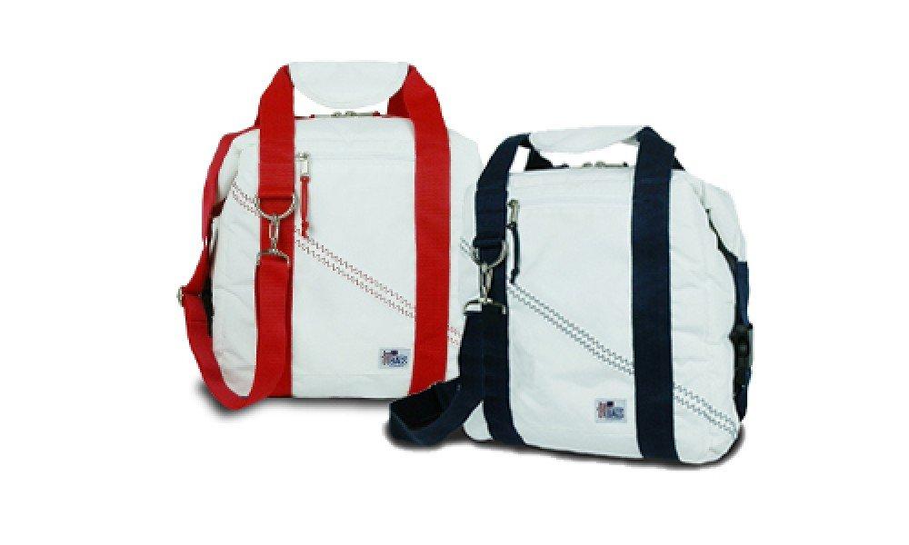 SailorBags 12-pack Insulated Sailcloth Soft Cooler Bag, Blue