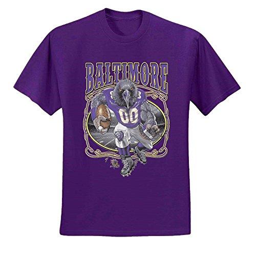 - Wild Bobby Baltimore Fan | BAL Fantasy Football | Mens Sports Graphic T-Shirt, Purple, 4XL