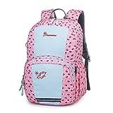 Mountaintop Kids Backpack/Toddler Backpack/Pre-School Kindergarten Toddler Bag (Pink-6030M)
