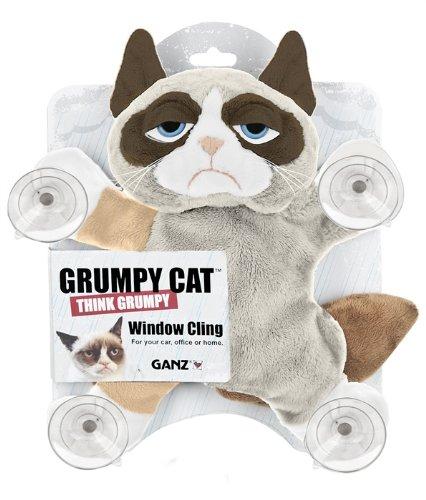 Ganz Grumpy Cat Window Cling 10quot