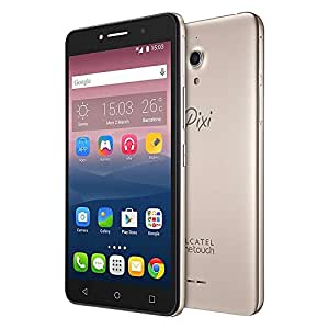 "Alcatel 8050E A2 XL Dual Sim 3G 13Mp + 8Mp Selfie Flash Quad Core 6"" QHD Factory Unlocked International Version (Black + Metal Gold)"