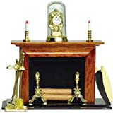 Dollhouse Miniature Regal Fireplace