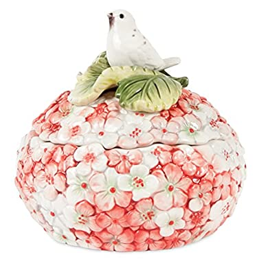 Fitz and Floyd 20-316 Hydrangea Lidded Box