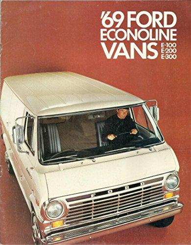 '69 Ford Econoline Vans E-100, E-200, E-300 (Look book and (E200 Motor)