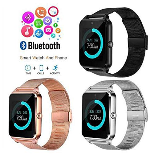 Amazon.com: MTOFAGF Z60 Bluetooth Smart Watch Phone ...