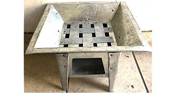 Mexican All Metal brasero barbacoa Fire Pit al aire libre estufa 12