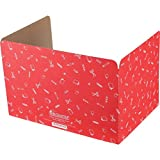 Really Good Stuff Jr. Privacy Shields for Student's Desks – Keeps Their Eyes on Their Own Test/Assignments (Matte (12 Shields), Red)