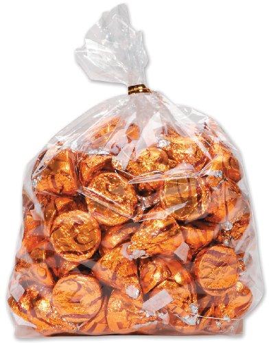 Darice 28-003V 4-Inch-by- 9-Inch Clear Treat Bag 60-Piece Va