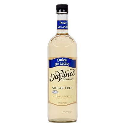 Da Vinci Sugar Free Dulce De Leche Gourmet Syrup, 750 ml ...