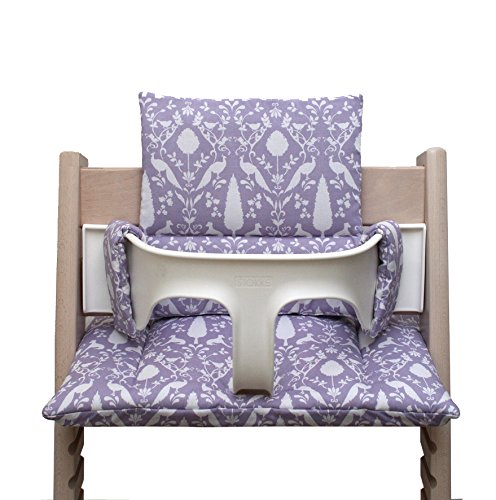 Blausberg Baby - Cushion Set for Tripp Trapp High Chair of Stokke - Lilac Oxford