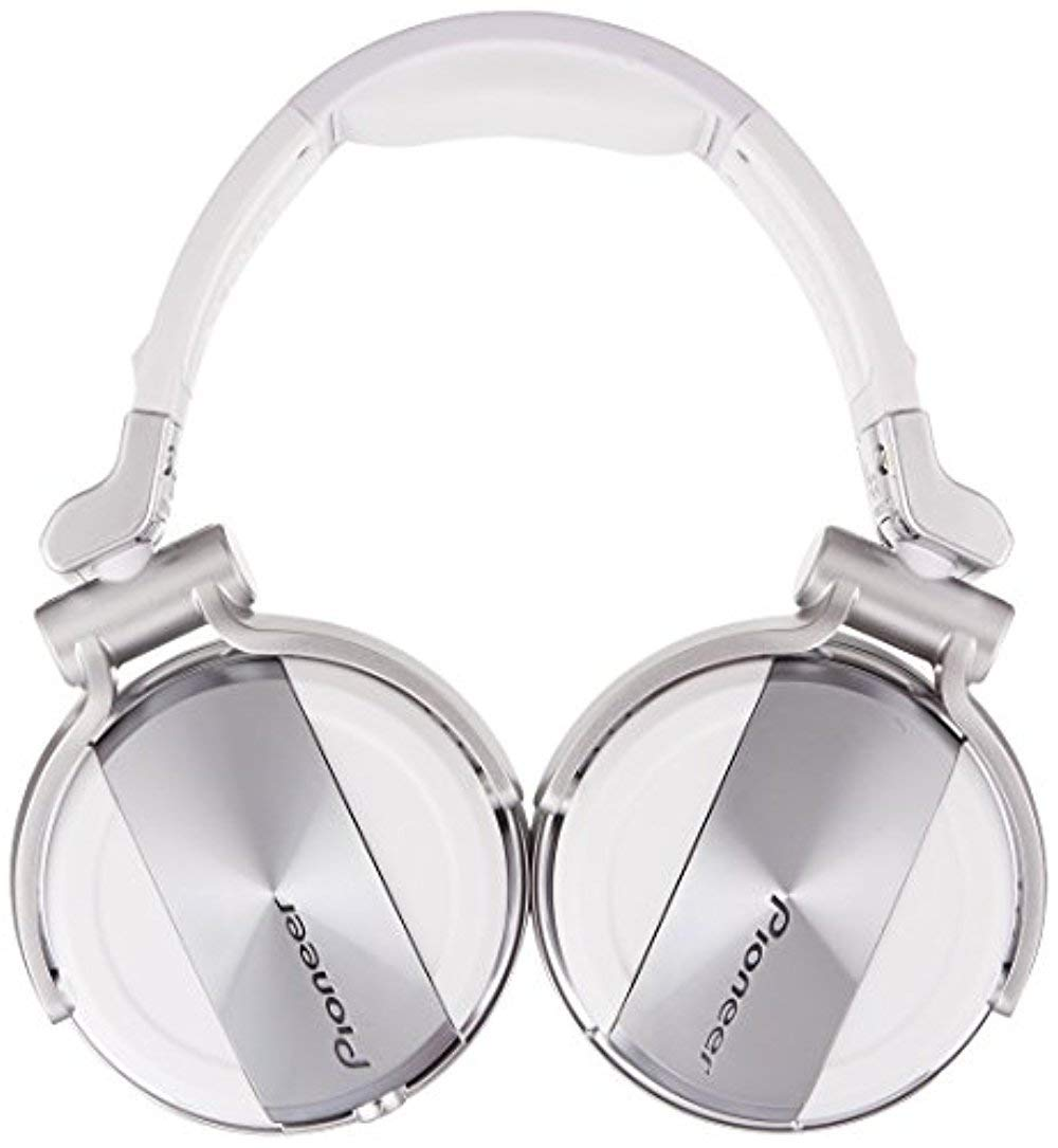 Pioneer DJ DJ Headphones, White.Only .Only Bluetooth 2.0 (HDJ-1500-W)