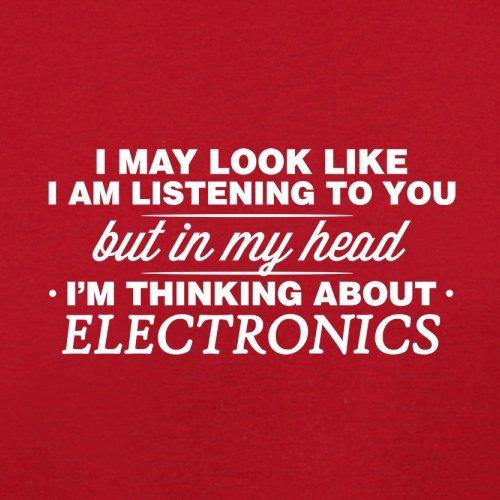 Flight Red Retro Electronics Head I'm My In Bag WUvOqznx