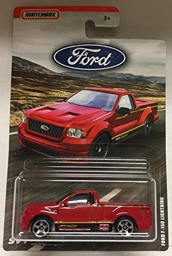 - Matchbox 2019 Ford Truck Series Ford F-150 SVT Lightning Pickup